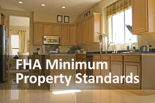 FHA Minimum Property Standards