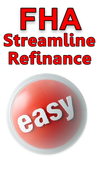 FHA Streamline Refinance Rates & Guidelines