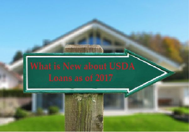What is New about USDA Loans as of 2017