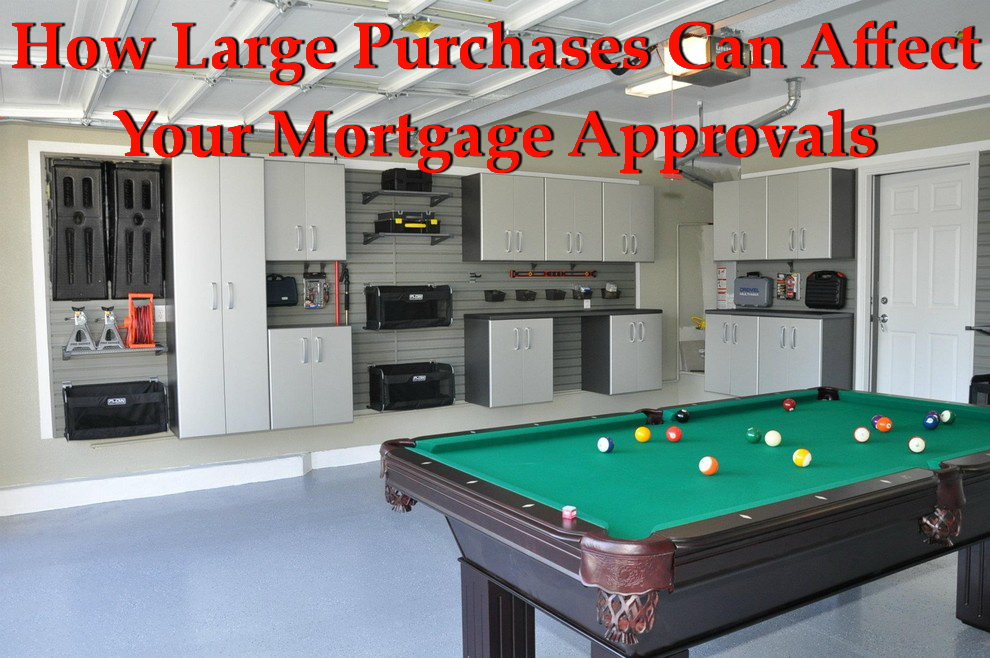 How Large Purchases Can Affect Your Mortgage Approvals | NSH Mortgage | Florida 2017