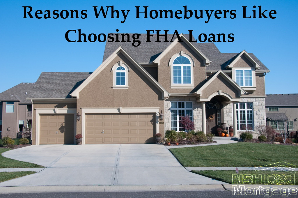 Reasons First Time Homebuyers Choose FHA Home Loans | NSH Mortgage | Florida 2017