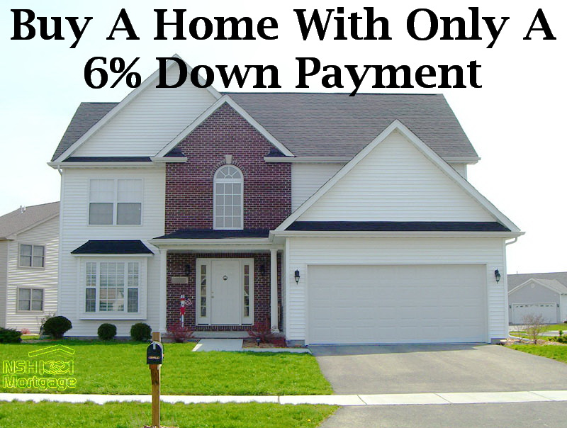 Buy A Home With Only A Six Percent Down Payment | Florida 2017