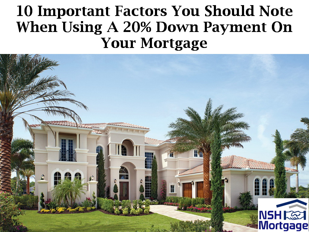 10 Factors You Need When Using A Down Payment | Florida 2018
