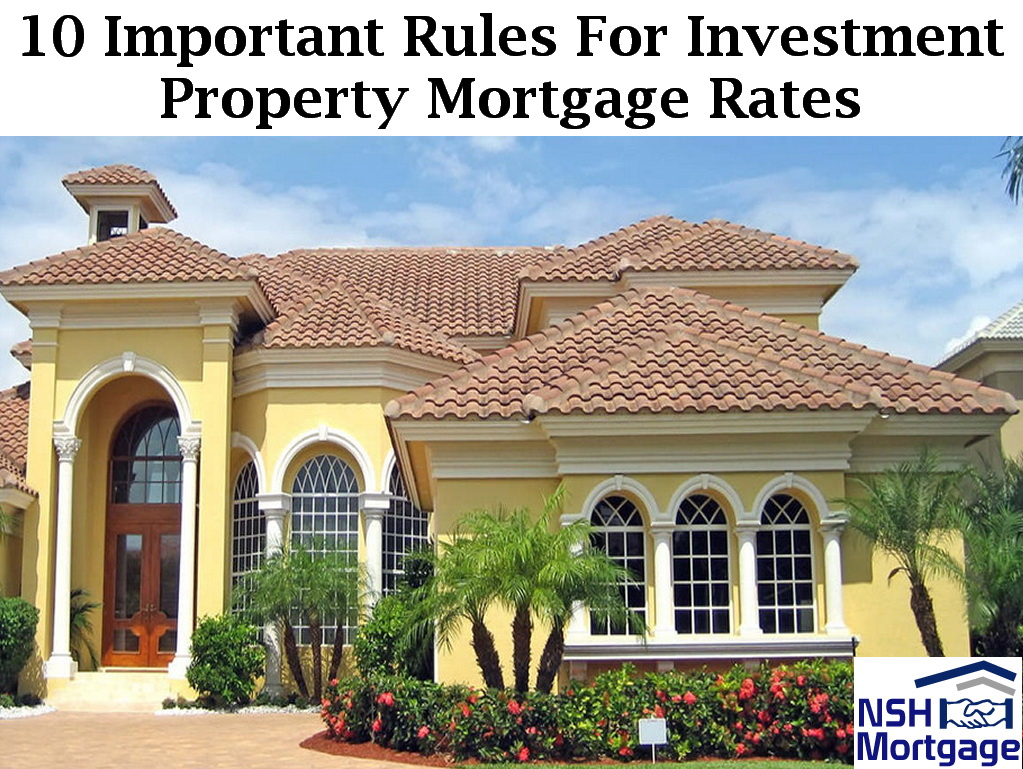 Fha Home Loan Investment Property