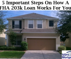 5 Important Steps On How A FHA 203k Loan Works