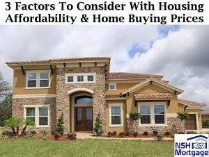 3 Factors On Housing Affordability & Home Buying Prices | Florida 2018
